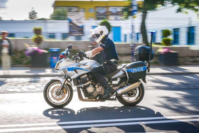 Policja Tarnów: Bezpieczny motocyklista
